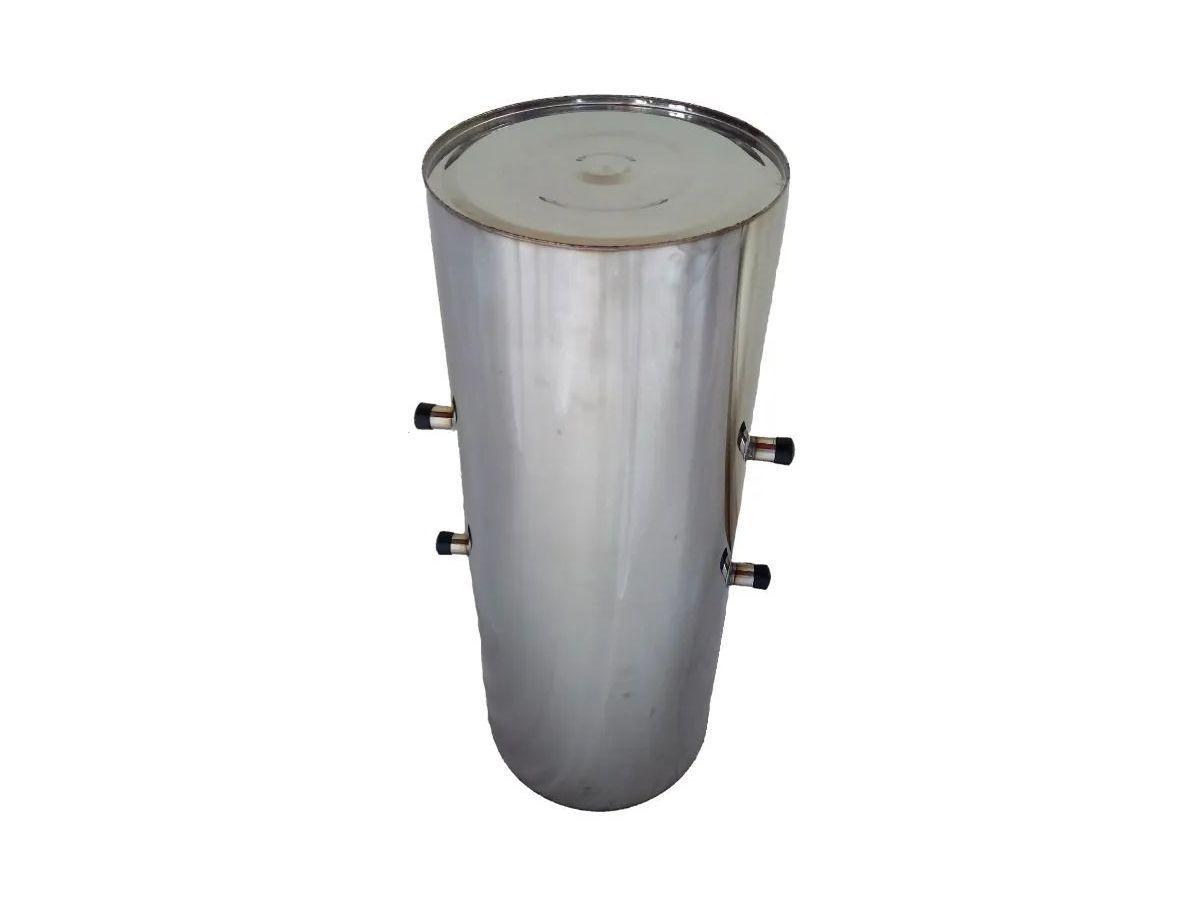 Cilindro Para Fogão A Lenha Inox 3/4 Chapa 18 60lts 80x32cm