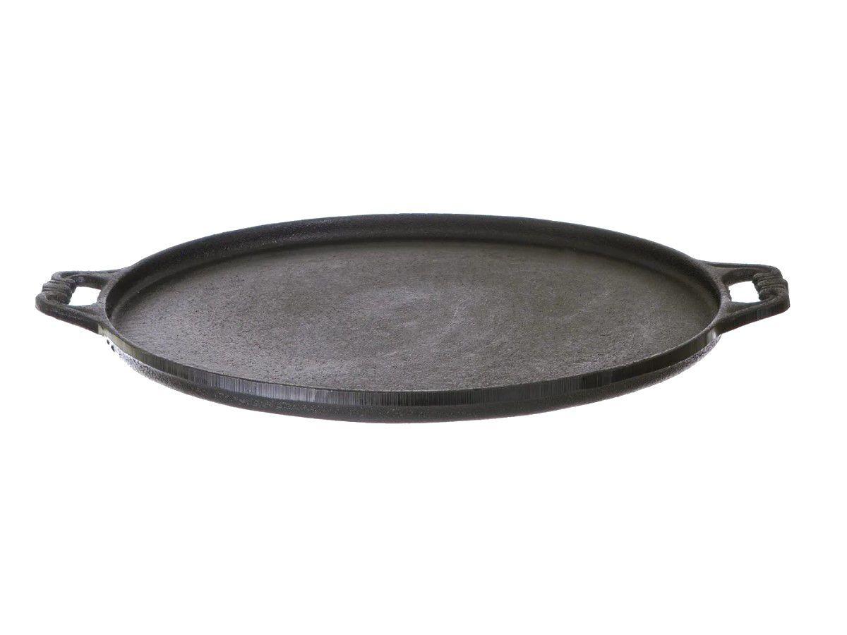 Forma Pizza Ferro Fundido Santana Pequena 24 Cm