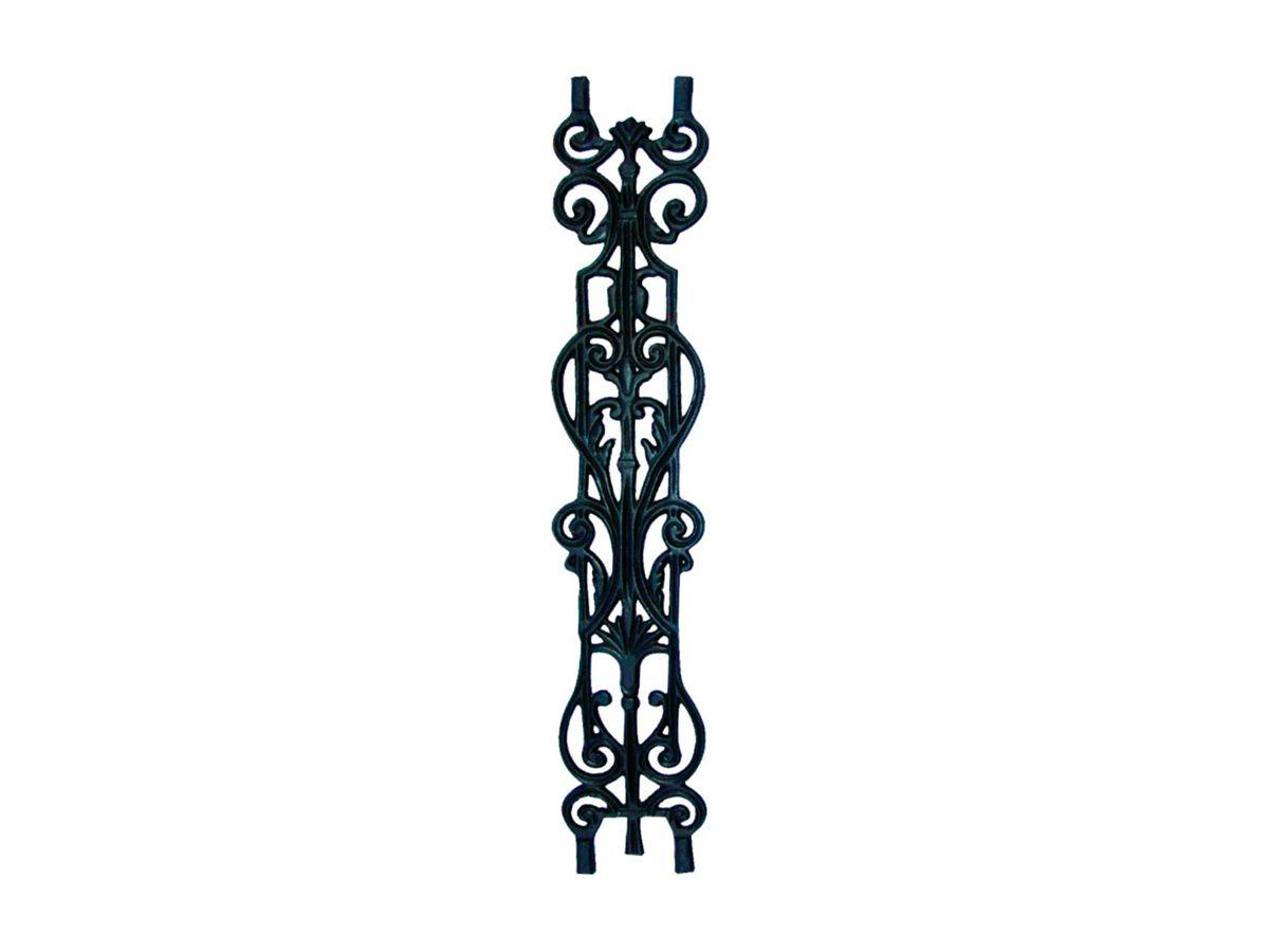 Grade Ferro Fundido Imperial Reta Varanda Sacada 80x15,5cm