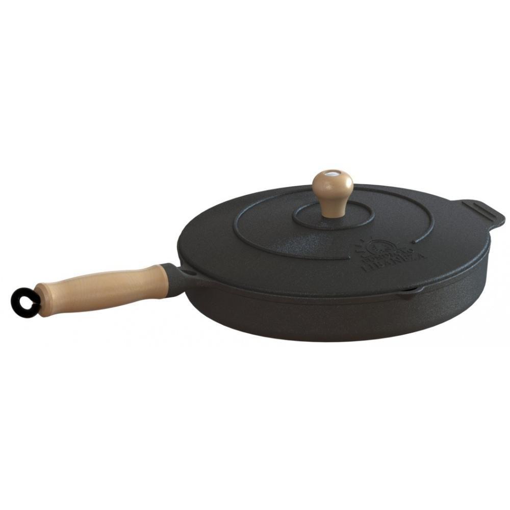 Jogo de Panela Ferro,3 Caçarolas,1 Frigideira e 1 Frita Ovos