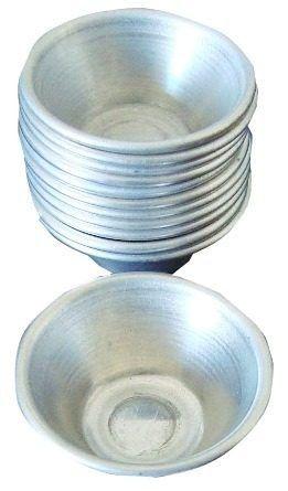 Kit Forminha Mini Empada Alumínio Nº 5 para Buffet (12 Unid)