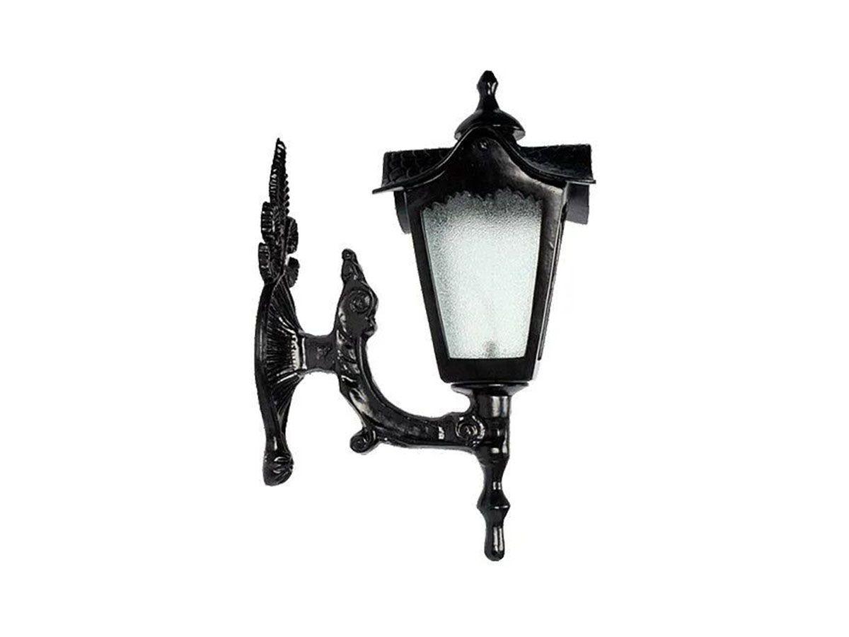 Luminária Colonial Madri Menor com Braço em Alumínio 45cm