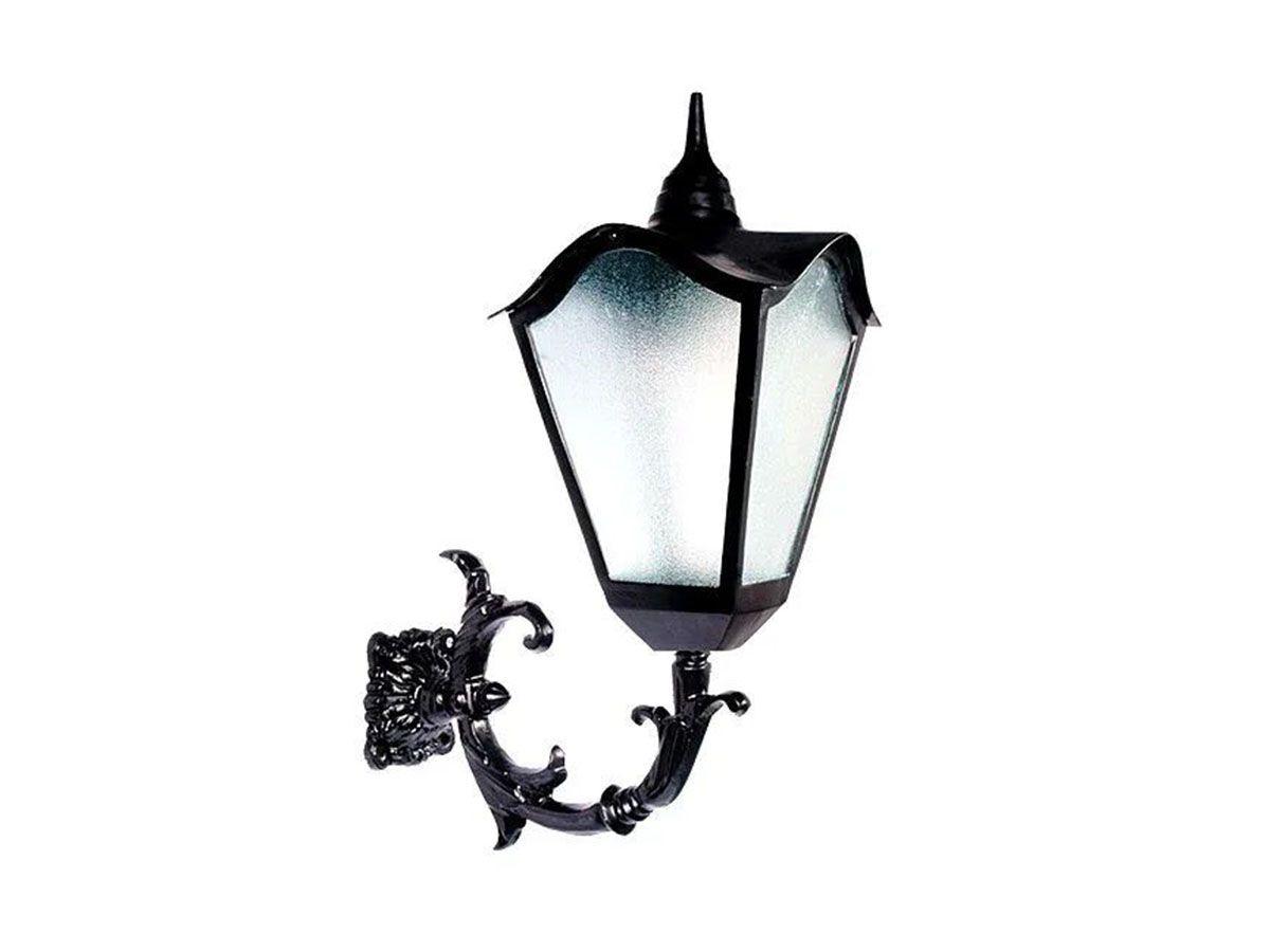 Luminária Colonial Romana Grande com Braço em Alumínio 80cm