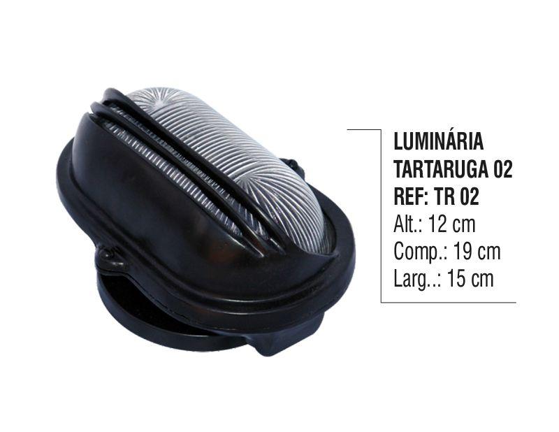 Luminária Colonial Tartaruga Parede Teto Chão Alumínio N02