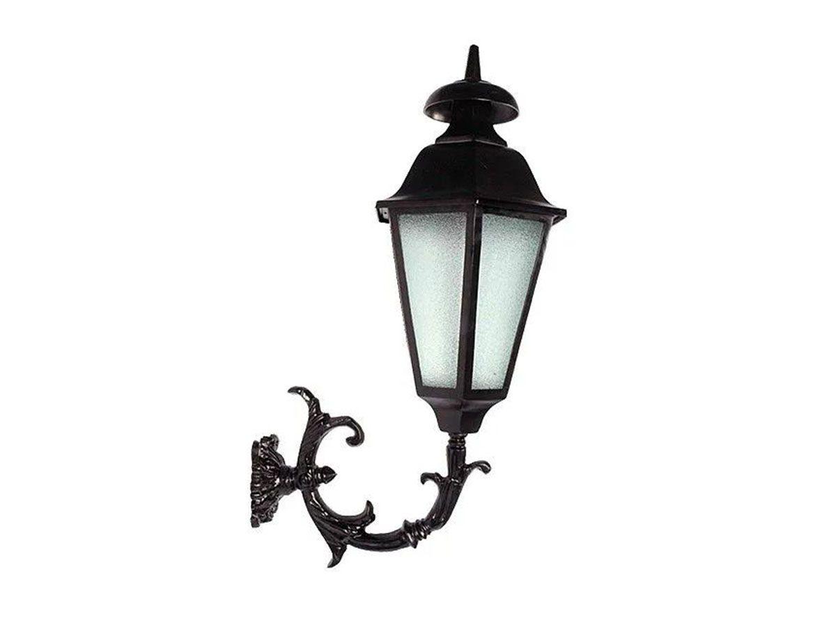 Luminária com Braço Italiana Externa/interna Alumínio 84cm