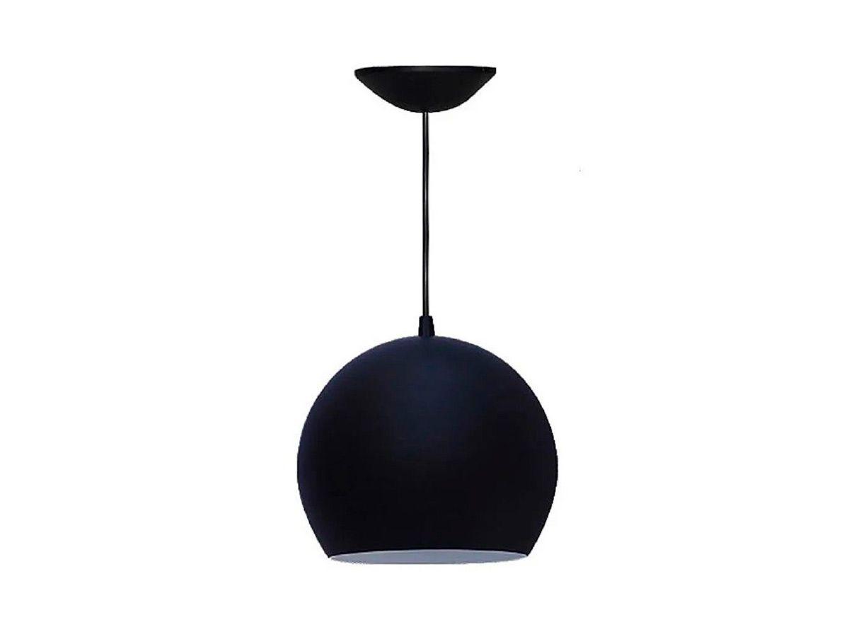 Pendente Lustre Luminária de Teto Taça Grande em Plástico