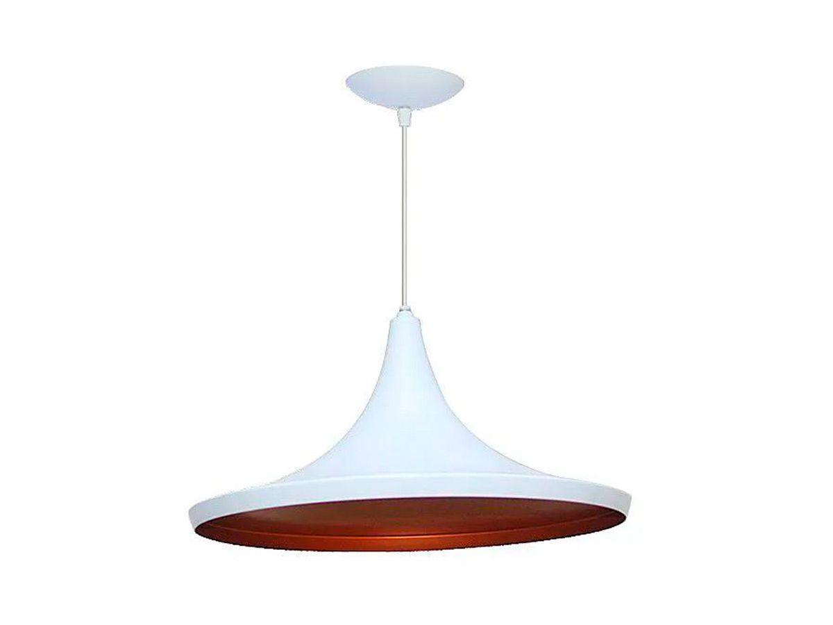 Pendente Lustre Luminária Teto Chapéu Chinês N02 em Plástico