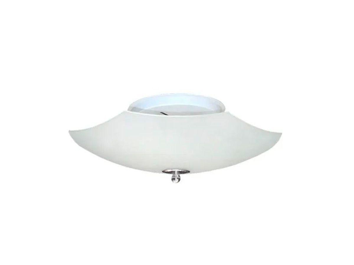 Plafon para Teto Parede Saturno com Borda Sobrepor Alumínio