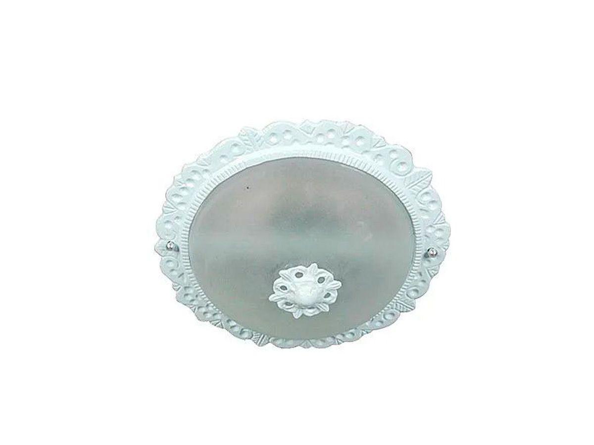 Plafon Teto Parede Caribe Menor de Sobrepor Alumínio e Vidro