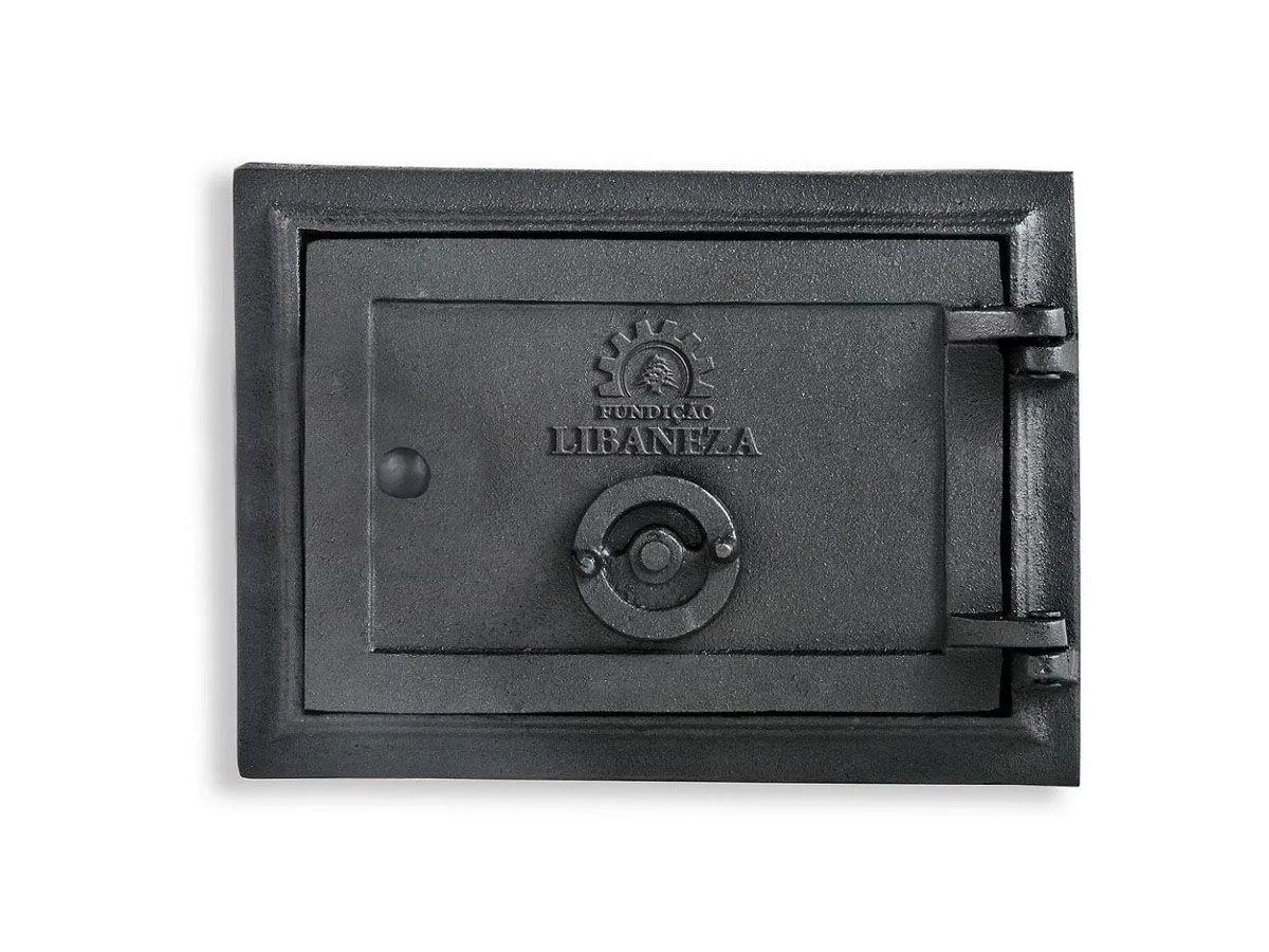 Porta Cinzeiro/fornalha Em Ferro Libaneza 13x20 Cm