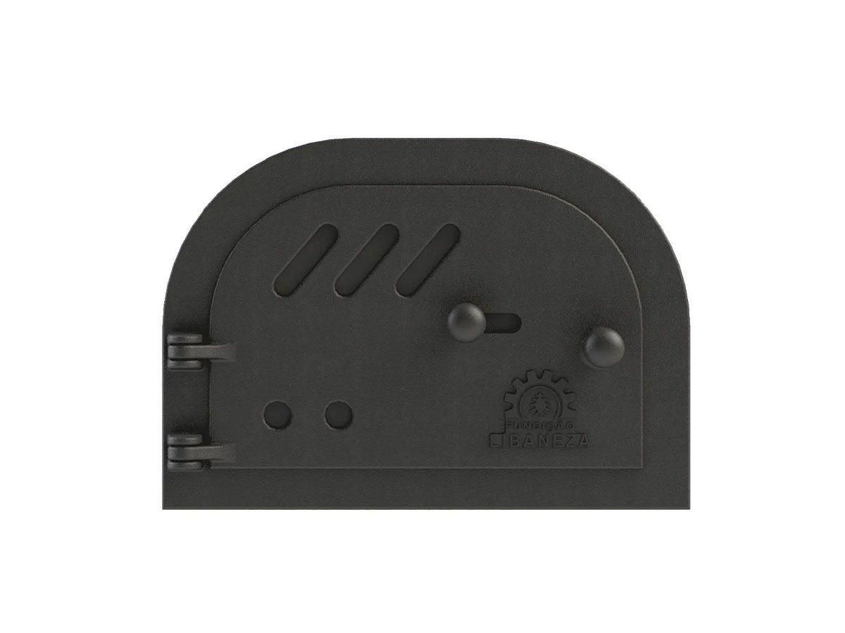 Porta Cinzeiro/fornalha Em Ferro Libaneza 19x30 Cm