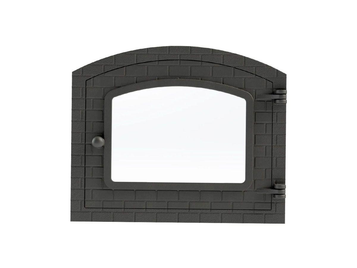 Porta Forno Ferro Fundido Com Vidro Libaneza Colonial G