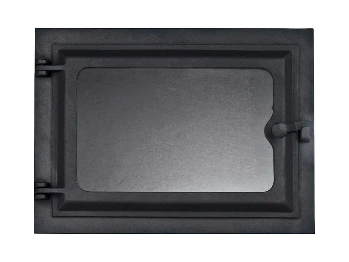 Porta Forno Ferro Fundido Com Vidro - Modelo Libaneza G