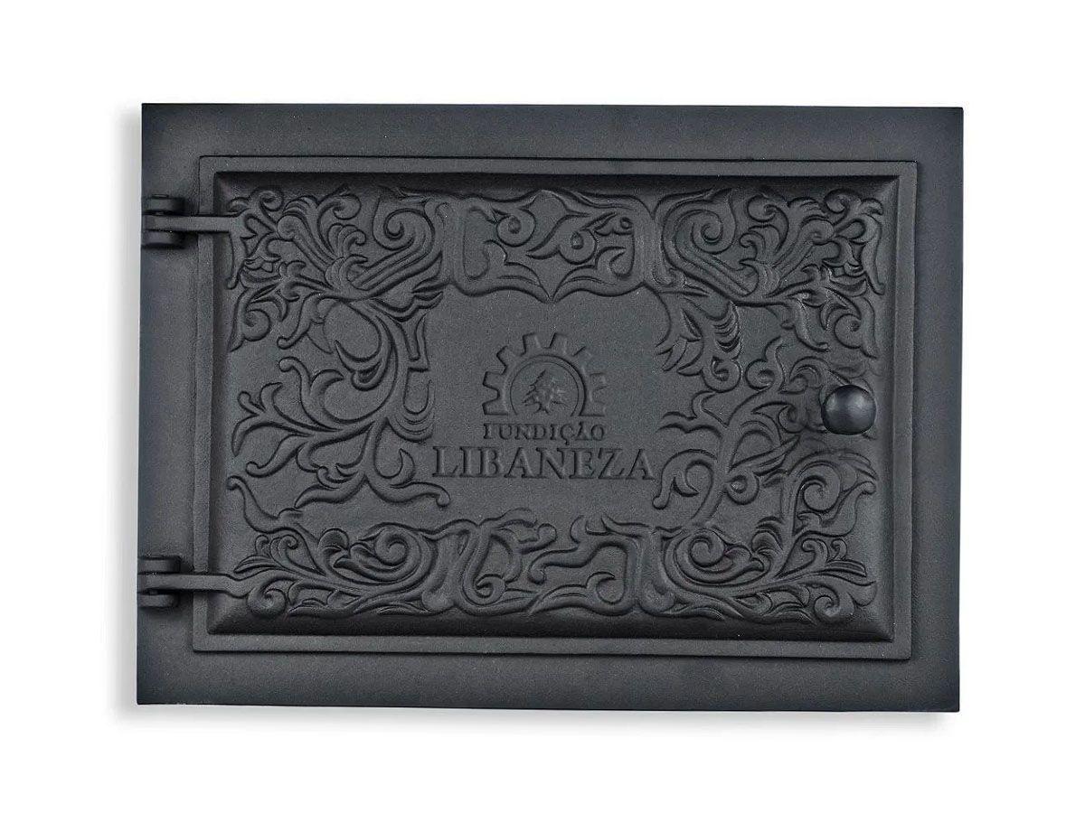 Porta Forno Ferro Fundido - Modelo Libaneza G