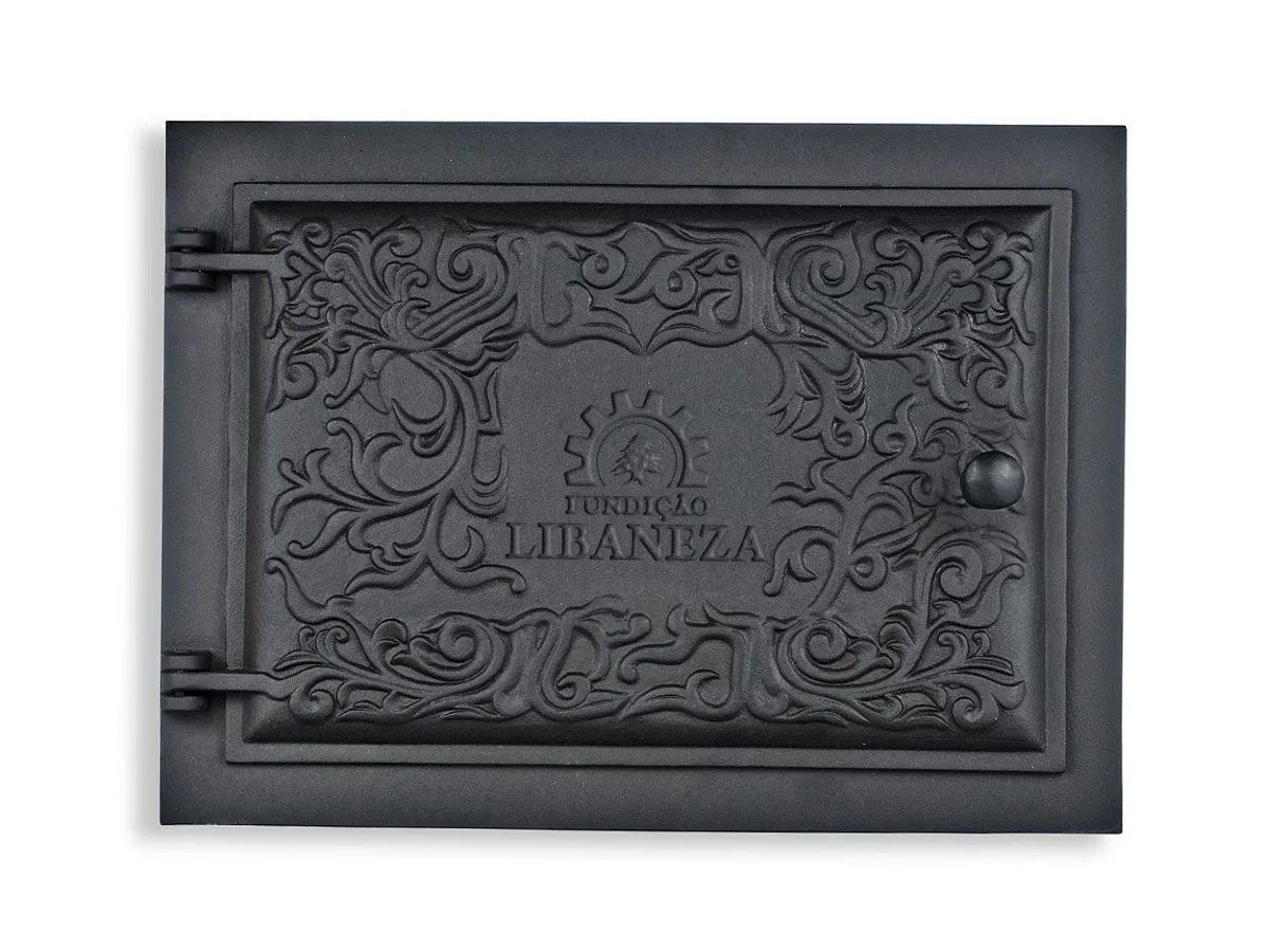 Porta Forno Ferro Fundido - Modelo Libaneza P