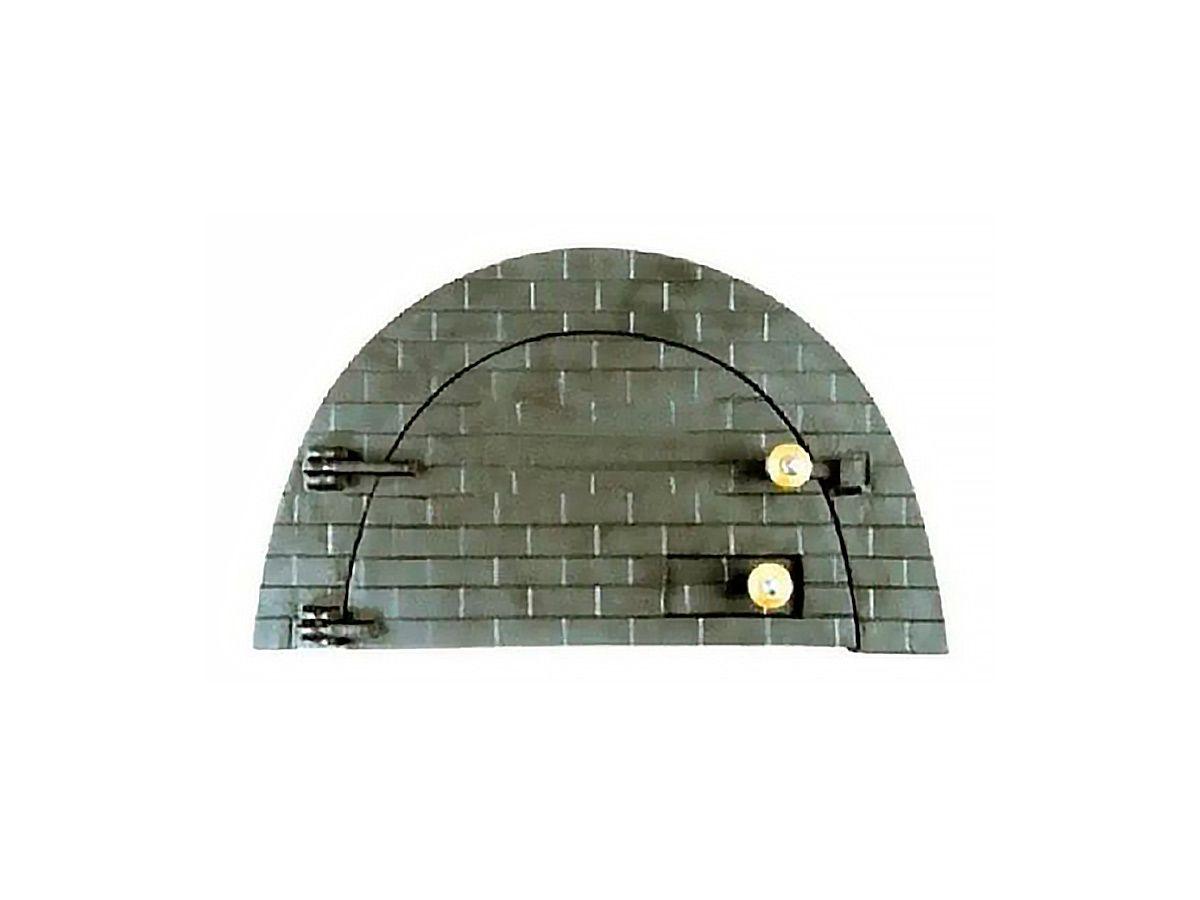 Porta Forno Ferro Fundido P/ Pizza Boquinho 53x32cm