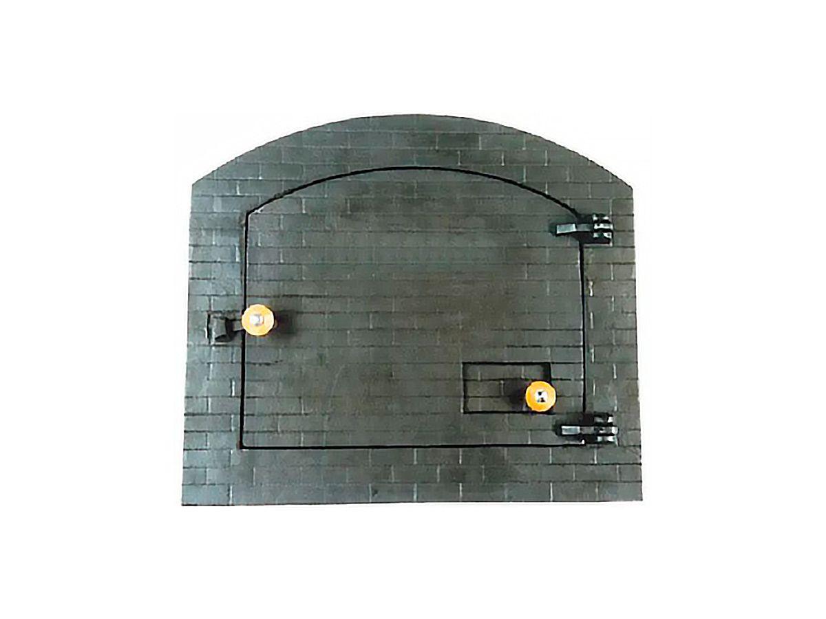 Porta Forno Ferro Fundido P/ Pizza Dnadai 51x45cm