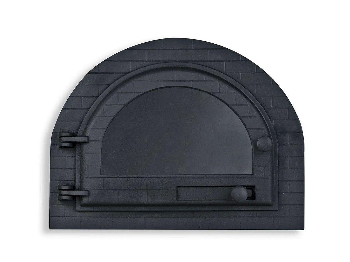 Porta Forno Ferro Igloo Com Vidro Libaneza Art Mil P
