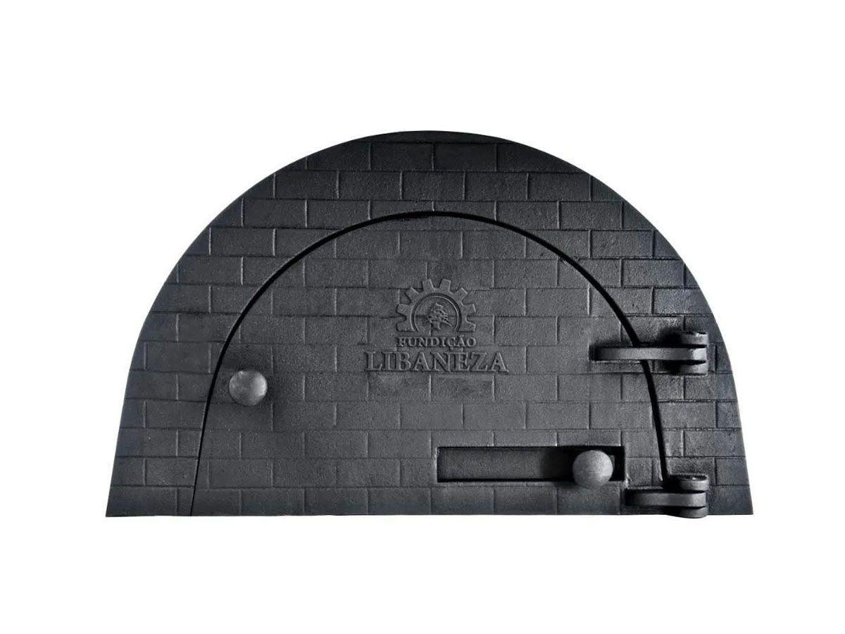 Porta Forno Ferro Igloo Sem Soleira Libaneza R Boquino P