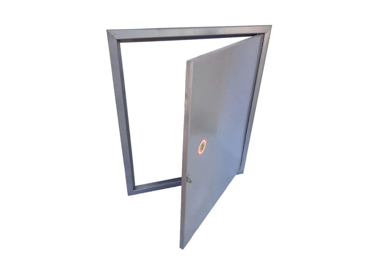 Proteção Hidrômetro Chapa Fechada Com Porta 50x60cm