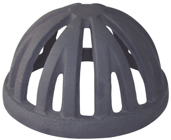 Ralo Semi Esférico Tipo Abacaxi 150mm Diâmetro 6 Polegadas