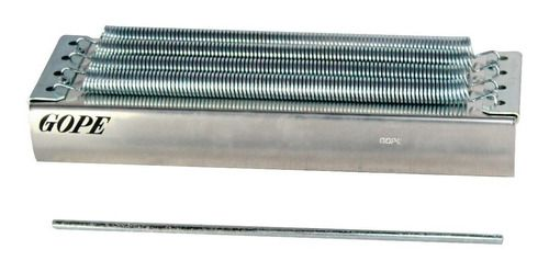 Reco Reco Profissional Gope 4 Molas Com Reforço Alumínio + Capa  - Panela de Ferro Fundido