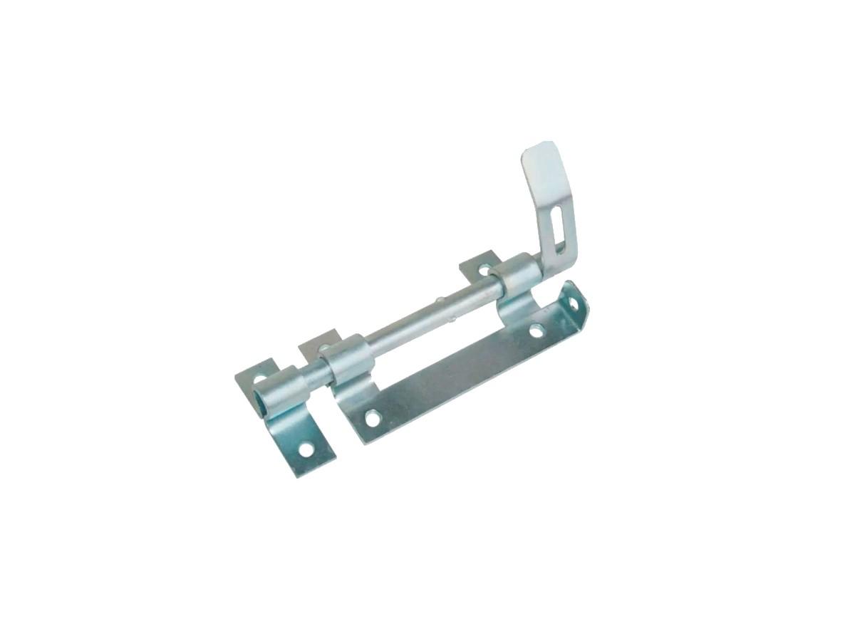 Trinco Ferrolho para Portão e Porteira Aço Zincado 180mm