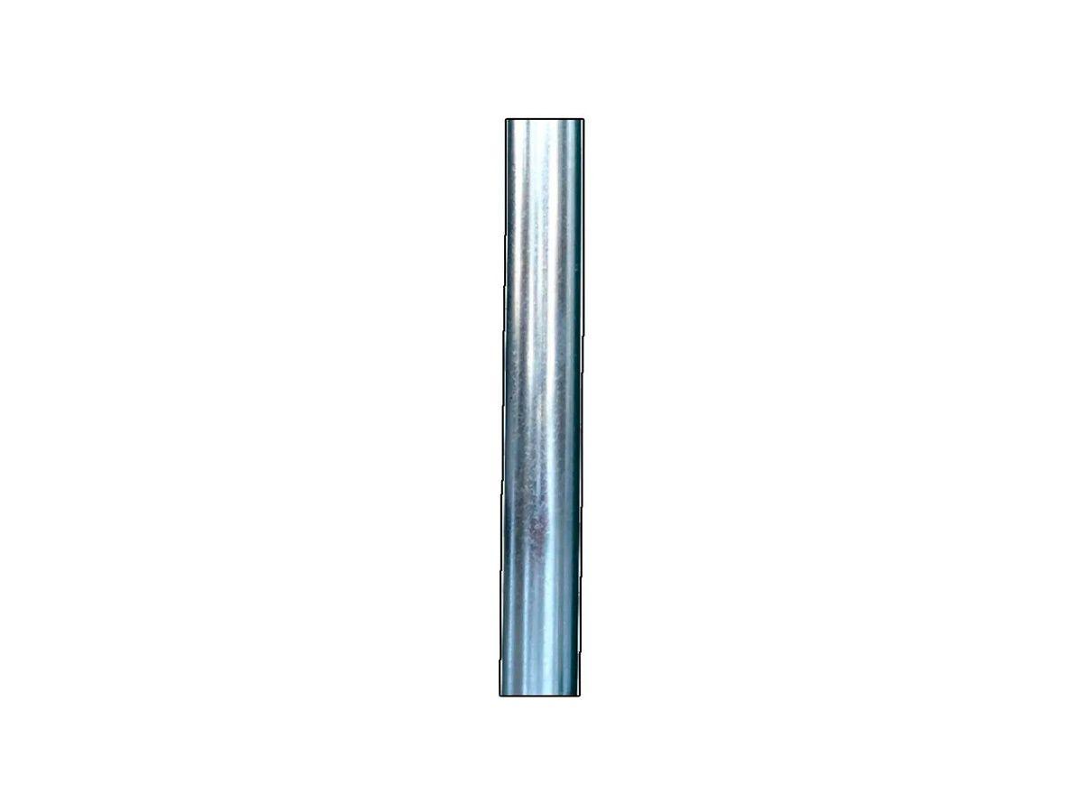 Tubo/cano para Chaminé de Chapa Galvanizada 10cm de Diâmetro