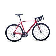 Bicicleta Audax Ventus 2000 vermelho e preto