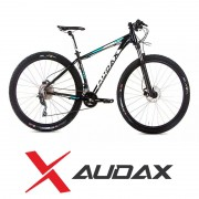 Bicicleta - Audax 400 - Preto/Azul/Branco fosco 29er SEMI-NOVA