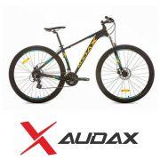 Bicicleta Audax - ADX 200 Preta, Amarela, Azul.