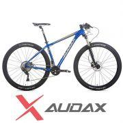 Bicicleta Audax ADX 400pro - AZUL e DOURADO