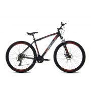 Bicicleta - BKL Best24 - Preto/Vermelho 29er