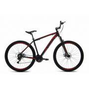 Bicicleta - BKL Excess - Preto/Vermelho Fosco - 29er