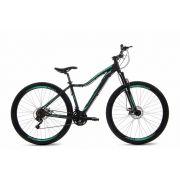 Bicicleta - BKL Forendy - Preto/verde água fosco - 29er