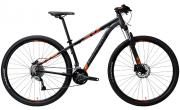 Bicicleta Groove HYPE 90 Preta e laranja tamanho 19 / 29