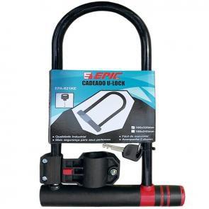 Cadeado U-LOCK EPIC EPA-821KE 180X320MM