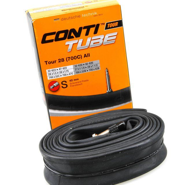 Camara Continental Conti Tube Tour 700x32x47 Presta 42mm
