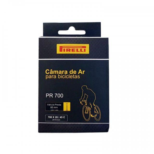 Camara Pirelli 700x28-45C Presta 48 mm
