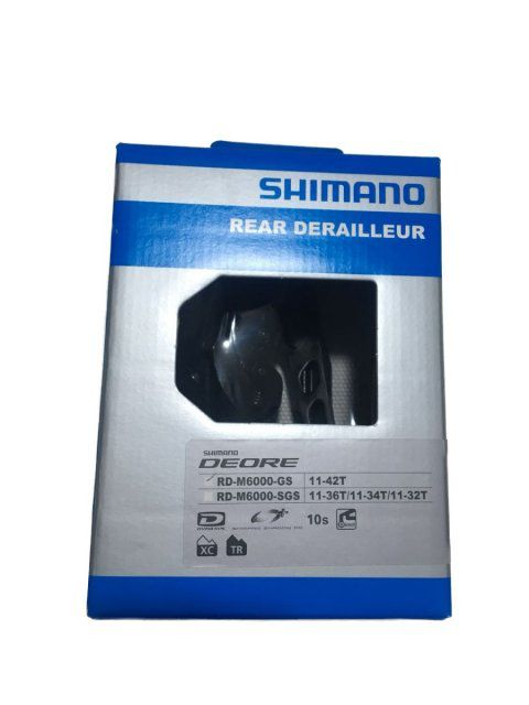 Cambio SHIMANO DEORE RD-M6000-GS 10V 11-42D Cage Longo