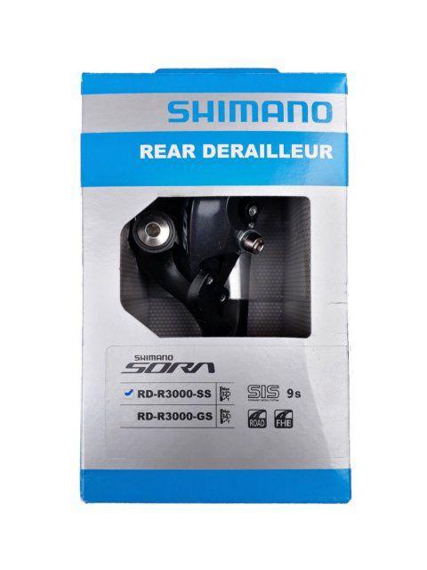 Cambio SHIMANO SORA RD-R3000-GS 9V Cage Longo