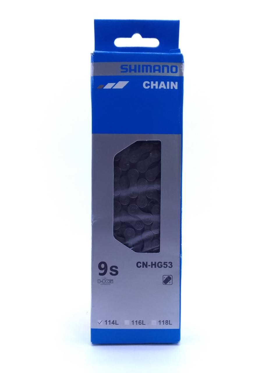 Cassete SHIMANO 9V HG400 11-28D + Corrente Shiamano 9V HG53