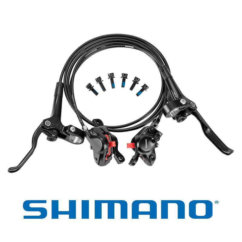 Freio Disco Hidraulico Shimano Altus Br-mt200 Dianeiro E Traseiro