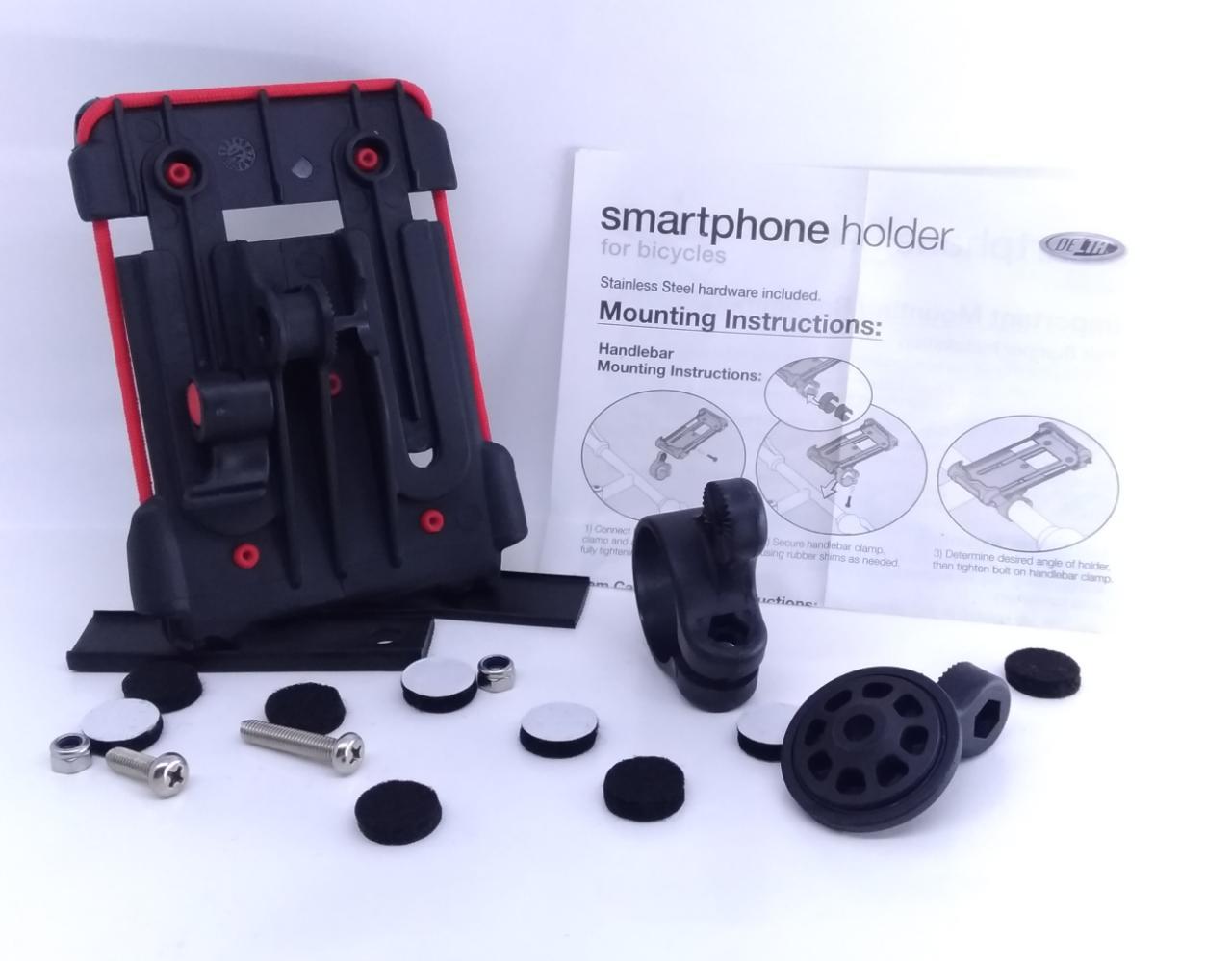 Suporte de Iphone c/capa resistente a água.