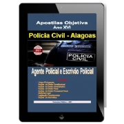 Apostila AGENTE E ESCRIVÃO | POLÍCIA CIVIL ALAGOAS - 2021