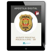 Apostila Concurso Agente Policial  | Polícia Civil - DF  ( 2020 )
