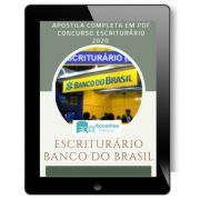 Apostila Concurso Banco Do Brasil - BB - Escriturário 2020/2021|Banco do Brasil