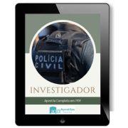 Apostila Concurso Investigador 2020 | Polícia Civil - SP