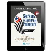 Apostila Concurso Oficial Administrativo | SEAP SP (2018)
