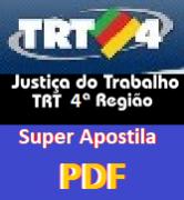 Apostila Concurso Técnico-Jud.-Adm. | TRT-4ª-Região-Rio-Grande-Sul (2015)